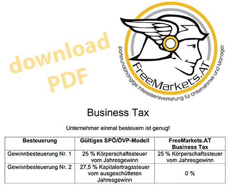 FreeMarkets.AT - Business Tax